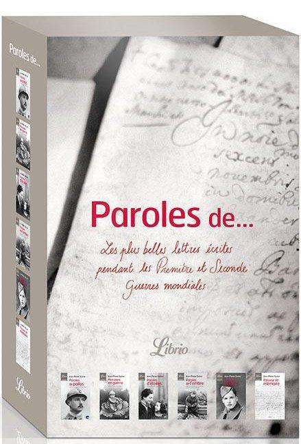Coffret Paroles De...