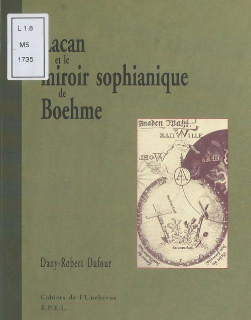 Lacan et la miroir sophianique de boheme