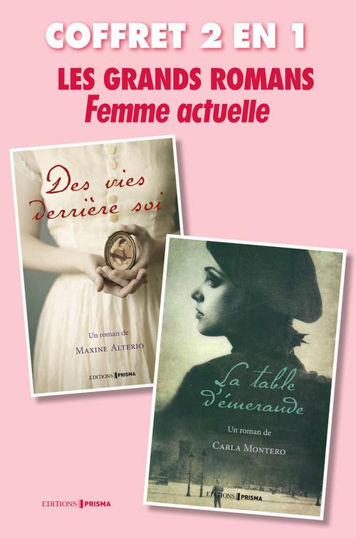 Coffret grand romans Femme Actuelle : La table d'émeraude, Des vies derrière soi