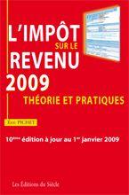 L'impôt sur le revenu 2009