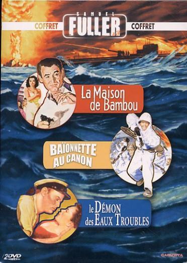 Samuel Fuller : La maison de bambou + Le démon des eaux troubles + Baïonnette au canon