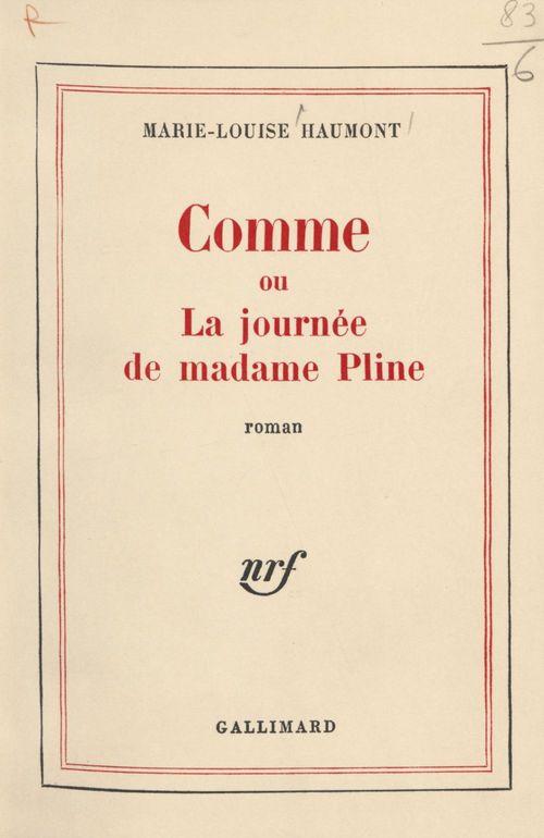 Comme  - Marie-Louise Haumont