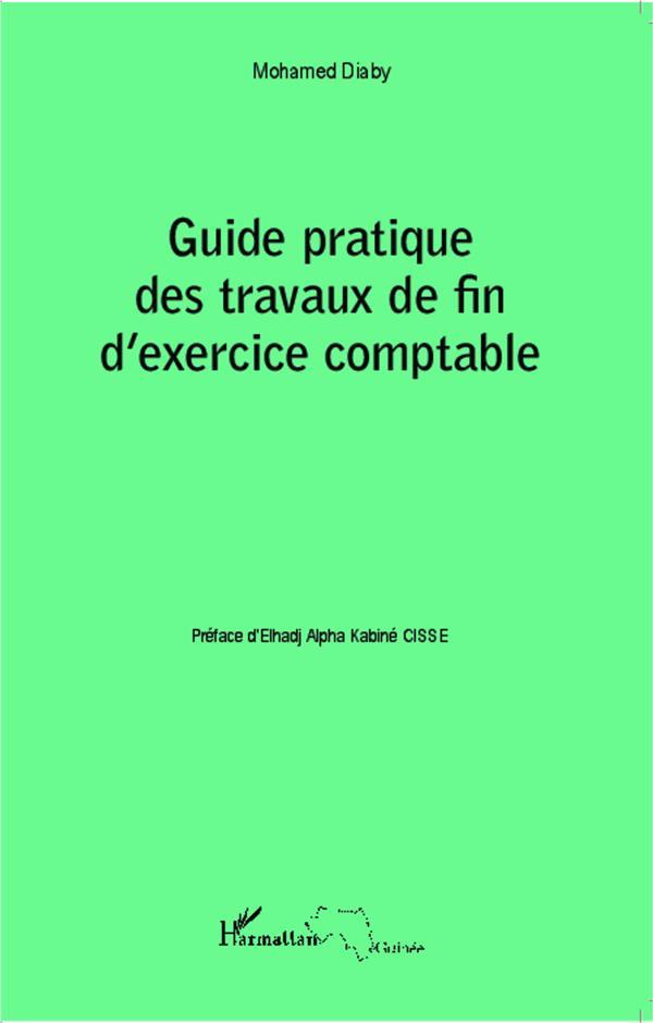 Guide pratique des travaux de fin d'exercice comptable