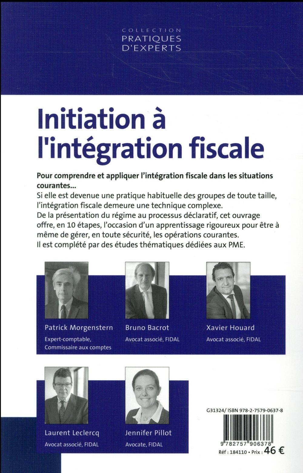initiation à l'intégration fiscale (édition 2018)