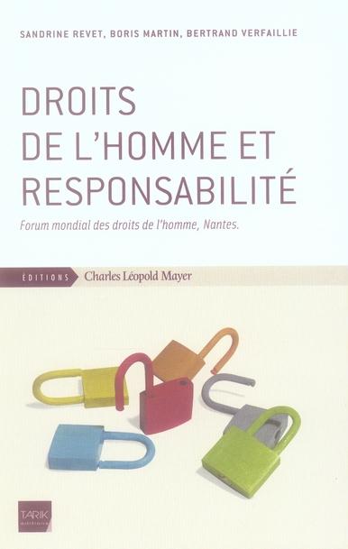 Droits de l'homme et responsabilité