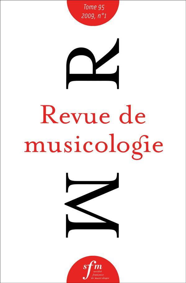 Revue de musicologie n.95.1