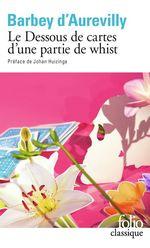 Vente Livre Numérique : Le Dessous de cartes d'une partie de whist  - Jules Barbey d'Aurevilly