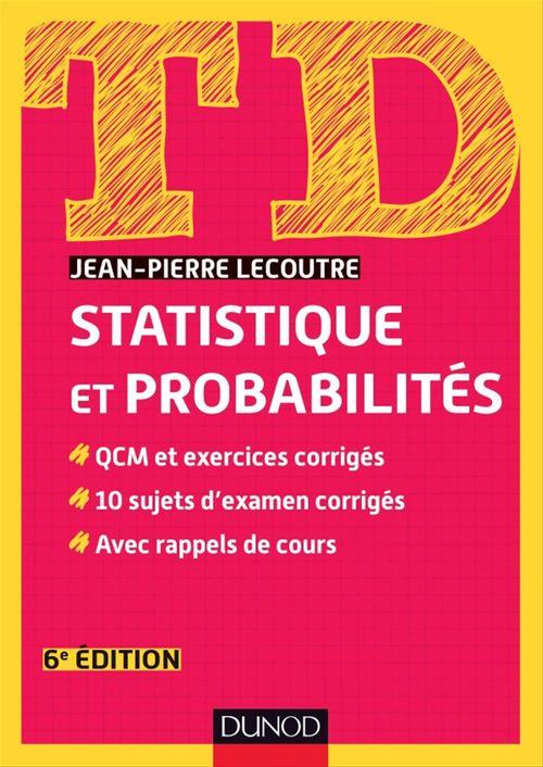 TD ; td statistique et probabilités (6e édition)