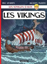 Les voyages d'Alix t.25 ; les vikings