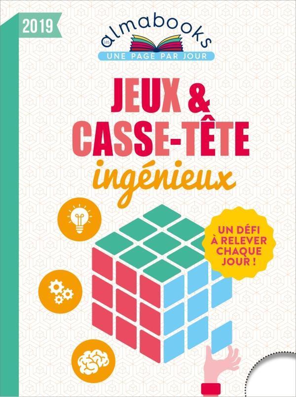 Almabook ; jeux et casse-tête ingénieux (édition 2019)