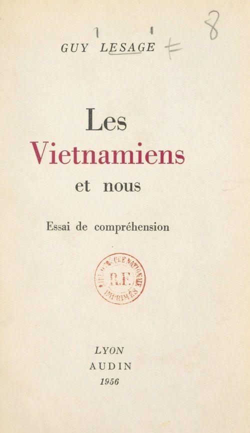 Les Viêtnamiens et nous