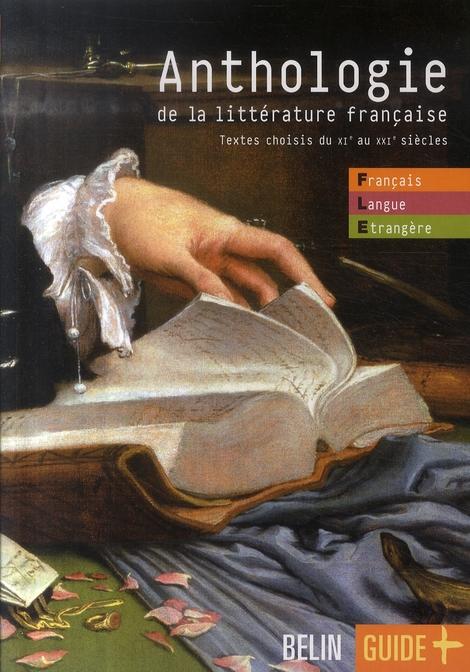 Anthologie De La Lit. Francaise - Fle