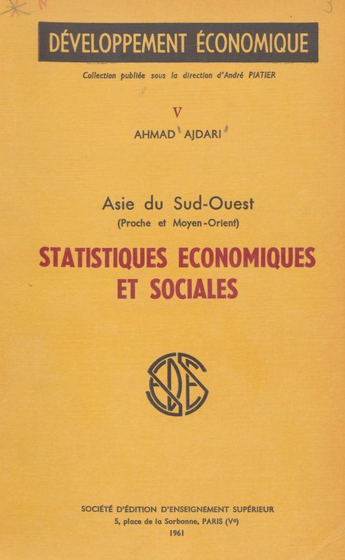 Statistiques économiques et sociales (5)