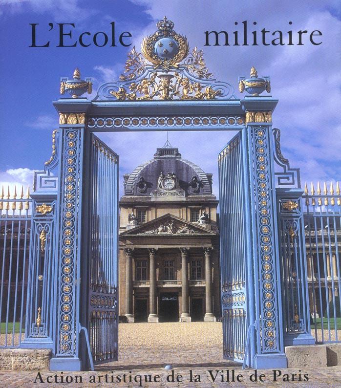 L'ecole militaire et l'axe breteuil-trocadero