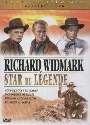 Richard Widmark, star de légende - Coffret 4 DVD