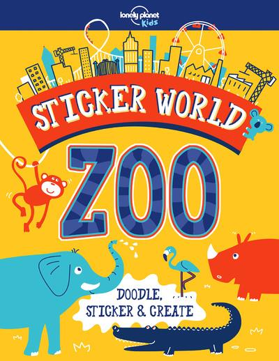 Sticker world ; zoo (édition 2018)