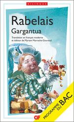 Vente EBooks : Gargantua (BAC 2022)  - François Rabelais