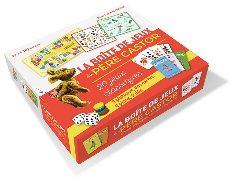 La boite de jeux du pere castor ; 20 jeux classiques