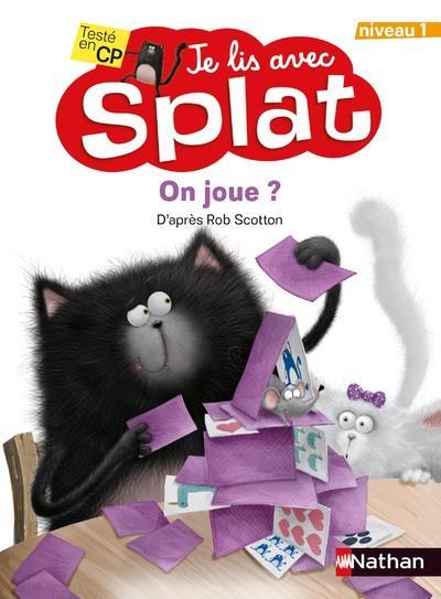 Je lis avec Splat ; on joue ? niveau 1