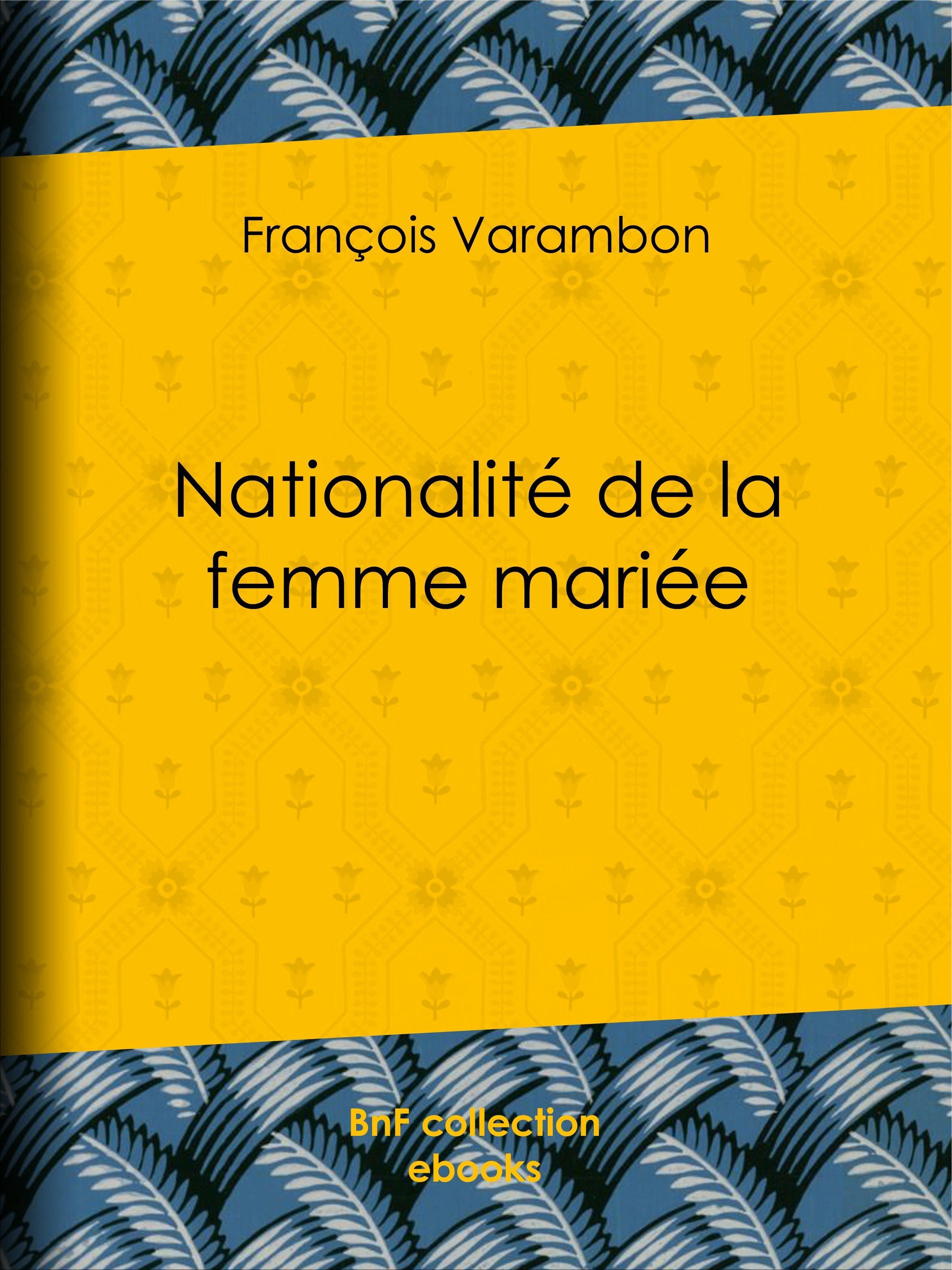 Nationalité de la femme mariée