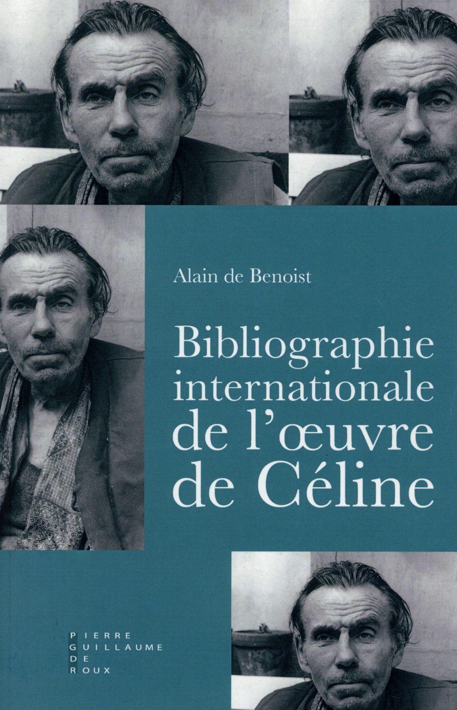 Bibliographie internationale de l'oeuvre de Louis-Ferdinand Céline