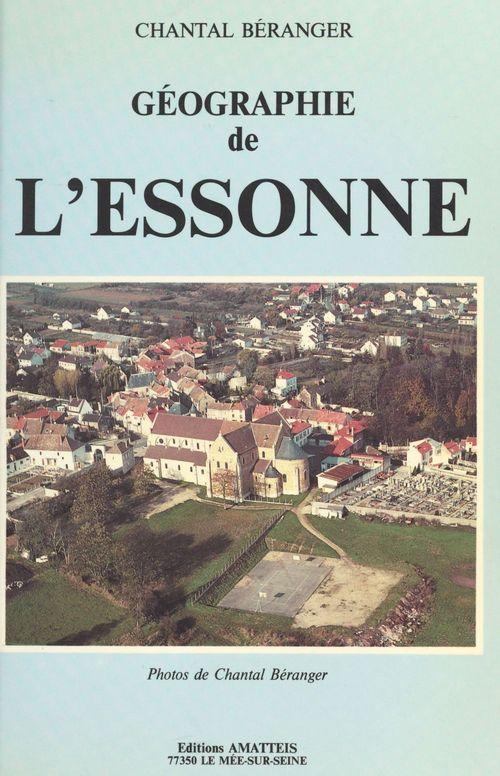 Géographie de l'Essonne