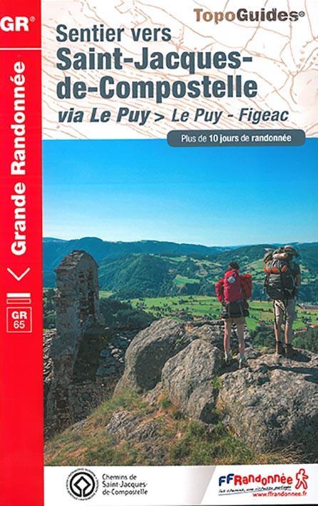 Sentier vers Saint-Jacques-de-Compostelle ; via Le Puy > Le Puy - Figeac (édition 2017)