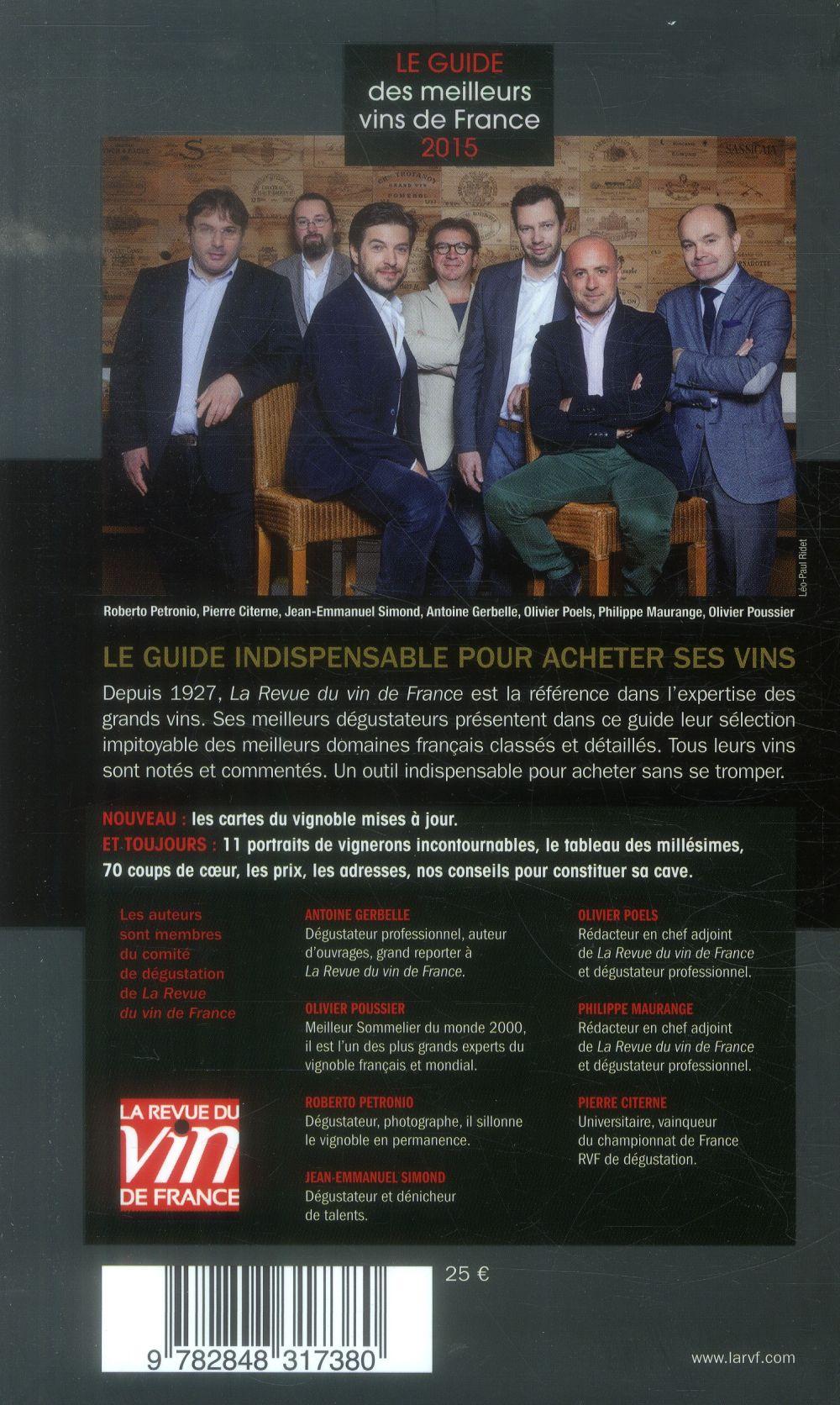 Le guide vert des meilleurs vins de France (édition 2015)