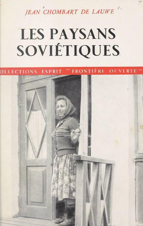 Les paysans soviétiques