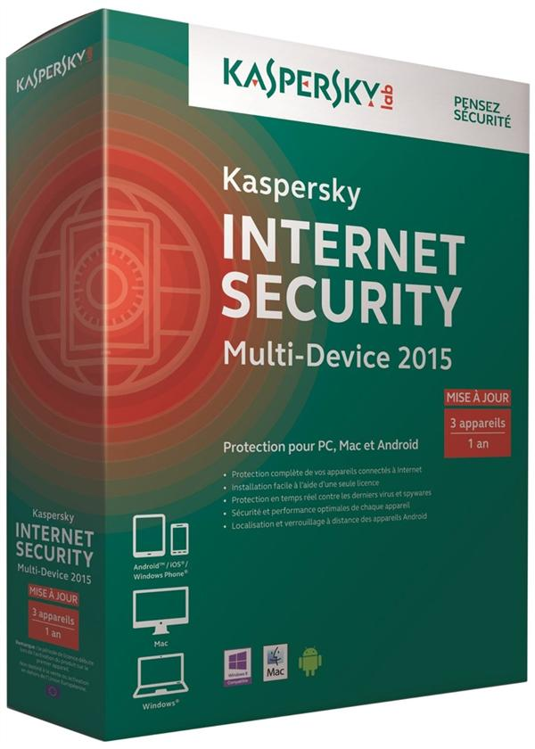 Kaspersky internet security multi-device 2015 (mise à jour)