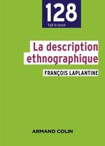 Vente Livre Numérique : La description ethnographique  - François LAPLANTINE