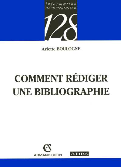 Comment rediger une bibliographie
