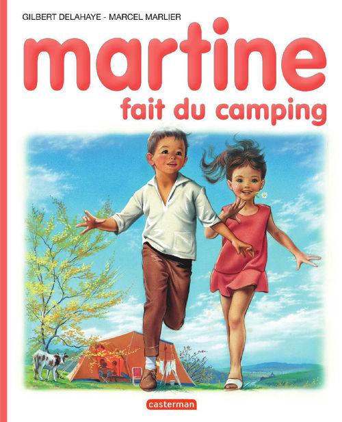 Martine t.9 ; Martine fait du camping