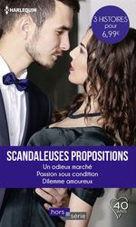 Vente EBooks : Scandaleuses propositions  - Lindsay Armstrong - Jacqueline Baird - Leigh Michaels
