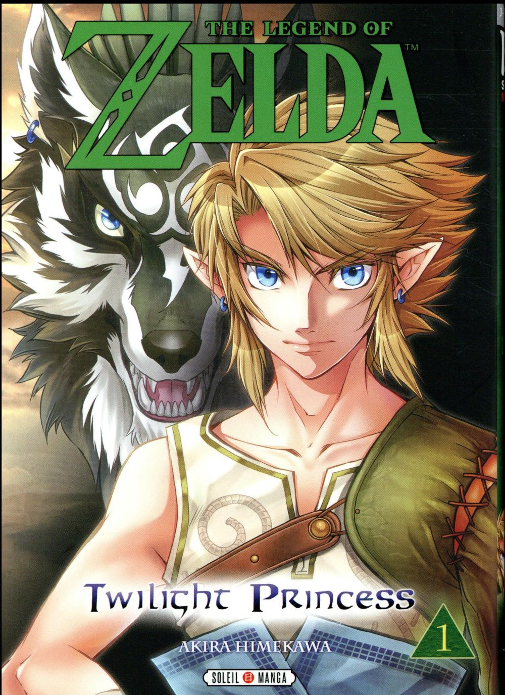 THE LEGEND OF ZELDA - TWILIGHT PRINCESS T.1 Himekawa Akira