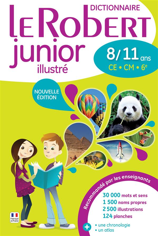 Le Robert junior illustré ; 8/11 ans
