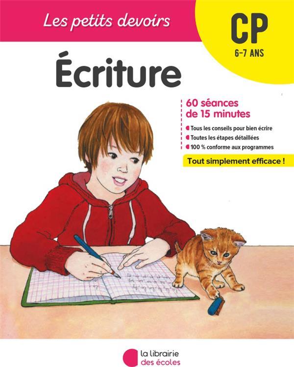les petits devoirs ; écriture ; CP