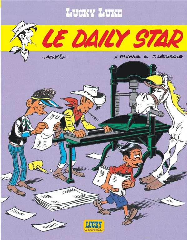 Lucky Luke T.53 ; Le Daily Star
