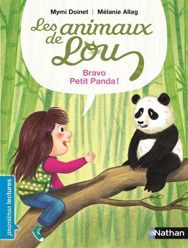 Les animaux de Lou ; bravo, petit panda !