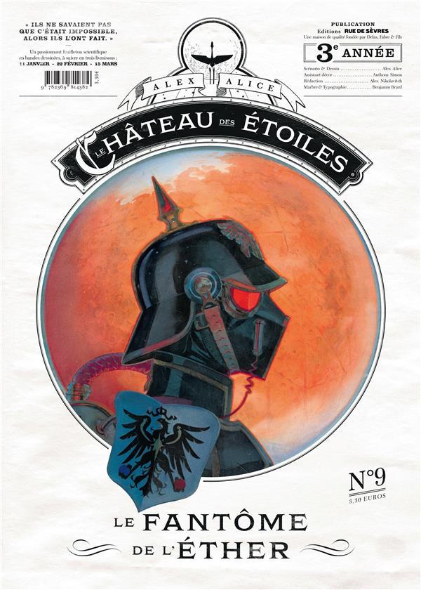 Le chateau des etoiles n.9 ; le fantome de l'ether