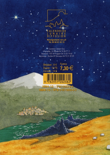 calendrier lunaire (édition 2007)
