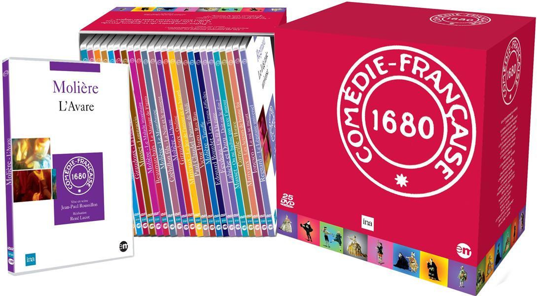 Coffret Comédie Française 25  DVD