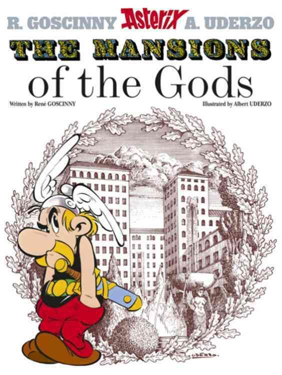 THE MANSIONS OF THE GODS - EDITION CARTONNEES