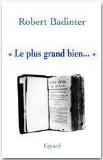 Vente EBooks : « Le plus grand bien... »  - Robert Badinter