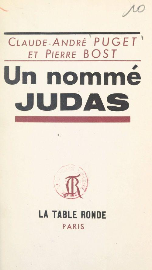 Un nommé Judas