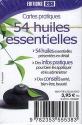 54 huiles essentielles ; cartes