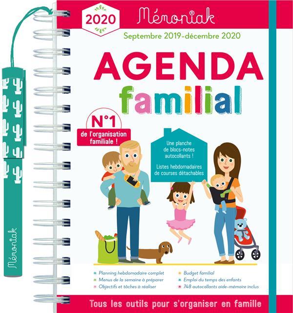 Mémoniak ; agenda familial (édition 2019/2020)