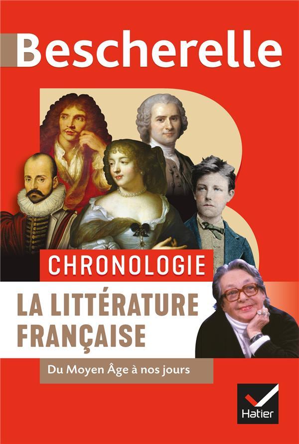 Bescherelle ; chronologie ; la littérature française ; du Moyen Age à nos jours