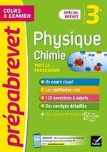 Vente Livre Numérique : Prépabrevet Physique-Chimie 3e Brevet 2022  - Joël Carrasco - Gaëlle Cormerais