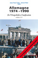 Allemagne 1974-1990  - Ulrich Pfeil  - Jean-Paul Cahn